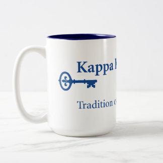 Kappa Kappa Gama Two-Tone Coffee Mug