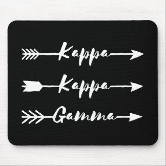 Kappa Kappa Gamma | Arrows Mouse Mat