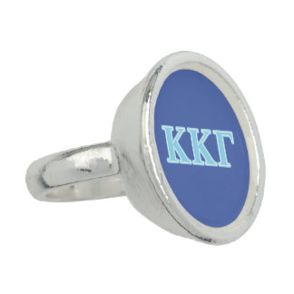 Kappa Kappa Gamma Baby Blue Letters
