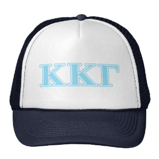 Kappa Kappa Gamma Baby Blue Letters Cap