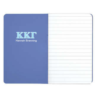 Kappa Kappa Gamma Baby Blue Letters Journal