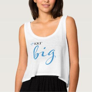 Kappa Kappa Gamma   Big Script Tank Top