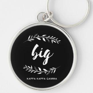 Kappa Kappa Gamma | Big Wreath Key Ring