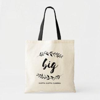 Kappa Kappa Gamma | Big Wreath Tote Bag