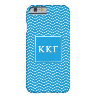 Kappa Kappa Gamma | Chevron Pattern Barely There iPhone 6 Case