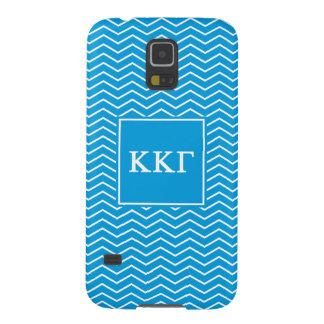 Kappa Kappa Gamma | Chevron Pattern Galaxy S5 Cases