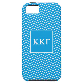 Kappa Kappa Gamma | Chevron Pattern iPhone 5 Case