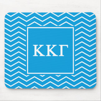 Kappa Kappa Gamma | Chevron Pattern Mouse Mat