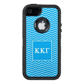 Kappa Kappa Gamma   Chevron Pattern OtterBox iPhone 5/5s/SE Case
