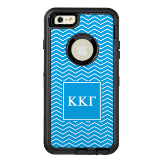 Kappa Kappa Gamma   Chevron Pattern OtterBox iPhone 6/6s Plus Case