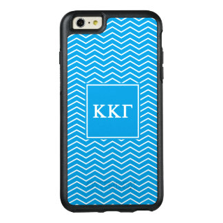 Kappa Kappa Gamma | Chevron Pattern OtterBox iPhone 6/6s Plus Case