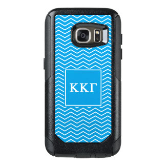 Kappa Kappa Gamma | Chevron Pattern OtterBox Samsung Galaxy S7 Case
