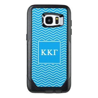 Kappa Kappa Gamma | Chevron Pattern OtterBox Samsung Galaxy S7 Edge Case