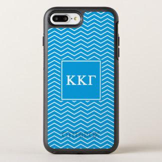Kappa Kappa Gamma | Chevron Pattern OtterBox Symmetry iPhone 7 Plus Case