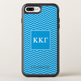 Kappa Kappa Gamma | Chevron Pattern OtterBox Symmetry iPhone 8 Plus/7 Plus Case