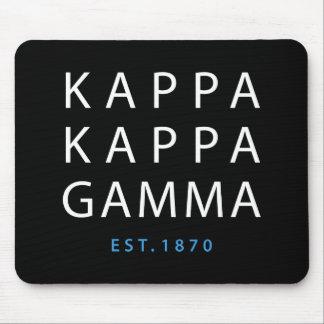 Kappa Kappa Gamma | Est. 1870 Mouse Mat