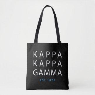 Kappa Kappa Gamma | Est. 1870 Tote Bag