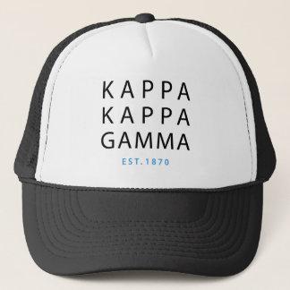 Kappa Kappa Gamma | Est. 1870 Trucker Hat