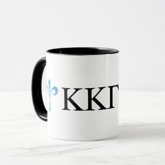 Kappa Kappa Gamma   Lil Script Mug