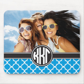 Kappa Kappa Gamma | Monogram and Photo Mouse Mat