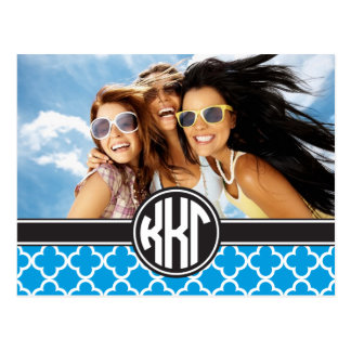 Kappa Kappa Gamma | Monogram and Photo Postcard