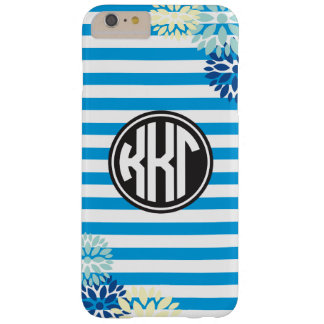 Kappa Kappa Gamma   Monogram Stripe Pattern Barely There iPhone 6 Plus Case