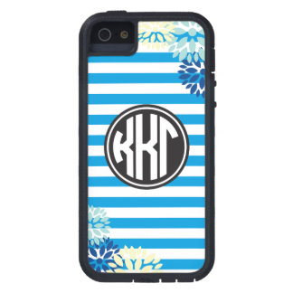 Kappa Kappa Gamma | Monogram Stripe Pattern iPhone 5 Covers