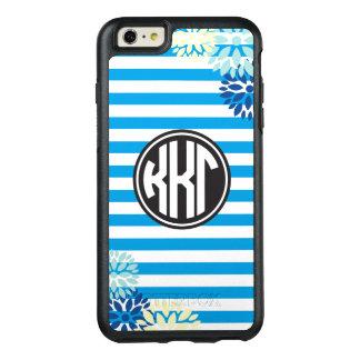 Kappa Kappa Gamma   Monogram Stripe Pattern OtterBox iPhone 6/6s Plus Case