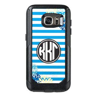 Kappa Kappa Gamma | Monogram Stripe Pattern OtterBox Samsung Galaxy S7 Case