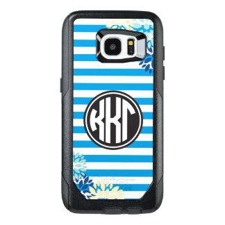 Kappa Kappa Gamma | Monogram Stripe Pattern OtterBox Samsung Galaxy S7 Edge Case
