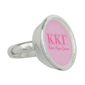 Kappa Kappa Gamma Pink Letters