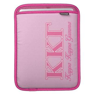 Kappa Kappa Gamma Pink Letters iPad Sleeve