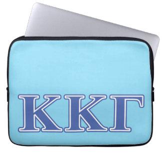 Kappa Kappa Gamma Royal Blue Letters Laptop Sleeve