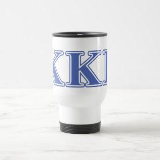Kappa Kappa Gamma Royal Blue Letters Travel Mug