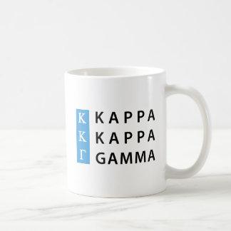 Kappa Kappa Gamma | Stacked Logo Coffee Mug