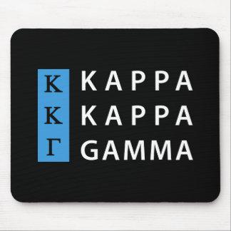 Kappa Kappa Gamma | Stacked Logo Mouse Mat