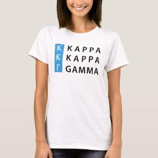 Kappa Kappa Gamma   Stacked Logo T-Shirt