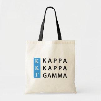 Kappa Kappa Gamma | Stacked Logo Tote Bag
