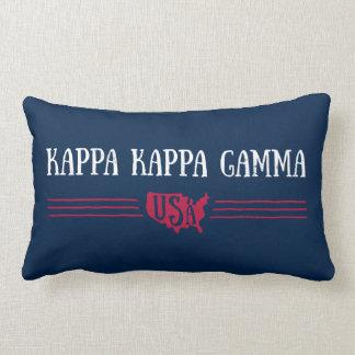 Kappa Kappa Gamma - USA Lumbar Cushion