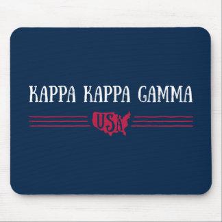 Kappa Kappa Gamma - USA Mouse Mat