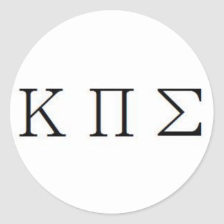KAPPA PI SIGMA Sticker