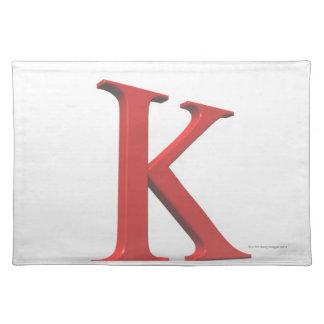 Kappa Placemat