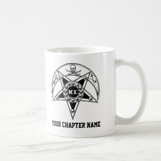 Kappa Sigma Badge Basic White Mug