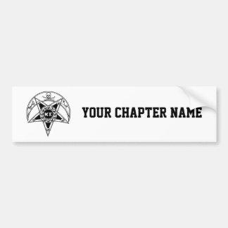 Kappa Sigma Badge Bumper Sticker