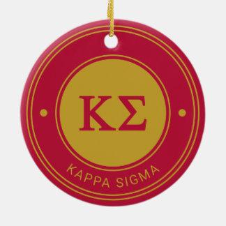 Kappa Sigma | Badge Christmas Ornament