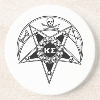 Kappa Sigma Badge Coaster