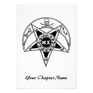 Kappa Sigma Badge Personalized Invite