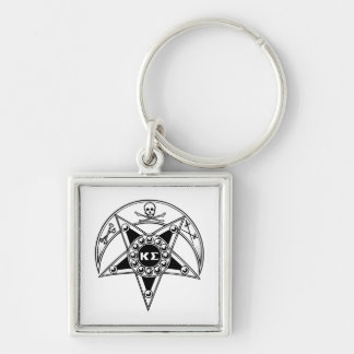 Kappa Sigma Badge Key Ring