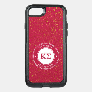 Kappa Sigma | Badge OtterBox Commuter iPhone 8/7 Case