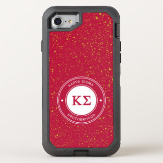 Kappa Sigma | Badge OtterBox Defender iPhone 8/7 Case